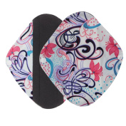 Cloth Sanitary Pads - Gallity Reusable Bamboo Charocoal Washable Menstrual Pad Mama Sanitary Towel Pad