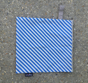 Luv Bug Wet Bag for Cloth Nappies, Swimwear, and Burp Cloths, Blue Stripe