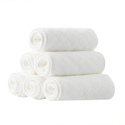 TRIEtree Baby Cotton Nappies Can Be Washed Soft Cloth Nappy Inserts Newborn Supplies Reusable Nappies size XL