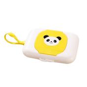 Baby Wet Tissue Holder Box Portable Travel Wipes Dispenser Case