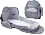 Baby Delight Snuggle Nest Traveller XL - Geo Hex - Grey/White