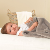 VelvetLoft Cosy Baby Blanket, Berry Smoothie