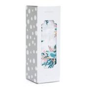 Saranoni Soft Luxury Bamboo Cotton Muslin Swaddle Baby Blanket 120cm x 120cm , Meadowlark Design