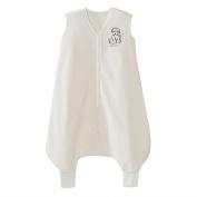 Halo Big Kids Sleepsack Wearable Blanket M-fleece, Cream Dog, 2-3T