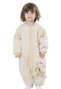 Infant Newborn Sleepwear Winter Cotton Sleeping Bag Footie 6-12 months, M