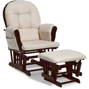 NEW Harbour Glider Rocker and Ottoman Set