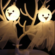 String Lights,1.5M 10LED Ghost Lights For Halloween Party Decor Lighting Lamps By Orangeskycn