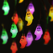 Halloween String Lights 1.2M 10 Led Ghost Indoor And Outdoor String Lights For Party Decor By Orangeskycn