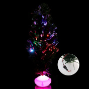 SYlive Christmas Tree Lights , 45cm LED Christmas Tree Optical Fibre Light For Party