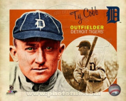 Ty Cobb Detroit Tigers 2013 MLB Retro Composite Photo 8x10