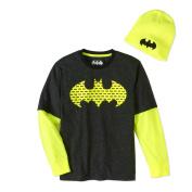 Batman Boys' Twofer Beanie Combo
