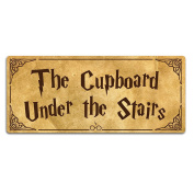 Cupboard Under The Stairs - Harry Potter - Metal Wall Sign Plaque Art Inspirational