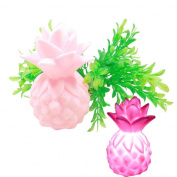Smdoxi Cartoon Pineapple Table Night Light Party LED Bedroom Light Home Decoration