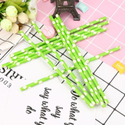 25Pcs Unique Candy Colour Dots Paper Straw For Kids Birthday Party Wedding Decorations Supplies Theme,Tuscom