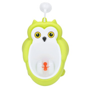 Children Potty Wall-Hanging Standing Urinal Toilet Training Closestool for Boy Pee Trainer with Downcomer Rotation Fan Strong Sucker