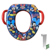 Mickey Mouse All Star Soft Potty Seat with Toilet Tank Potty Hook