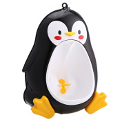 MD Group Kids Potty Toilet Baby Pee Training Urinal Toddler Boys Lovely Penguin Toilet Bathroom