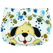 Velidy Baby Potty Training Pants Cute Reusable Nappy Nappy Underwear for Toddler (Dog