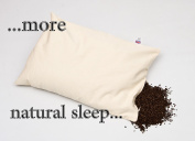 PERFECT PILLOW Ltd 100% ORGANIC BUCKWHEAT ,UK MADE SINCE 1996 ! GREAT BRITISH DESIGN UNBEATABLE VALUE* If parents were to lay Their Little Angels on Our Pillows from 9 Months they would Not Grow up To Suffer Neck,Head & Posture Pain as endured by us Ad ..
