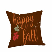 Clearance ! AmyDong Happy Halloween Pillow Cases Linen Sofa Cushion Cover Home Decor