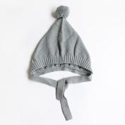Toddler Kid Crochet Hairball Beanie Cap Baby Winter Warm Knit Hat Infant Cap