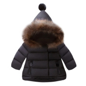 Kintaz Toddler Baby Kids Girls Boys Down Jacket Coat Autumn Winter Outerwear Hooded coats Warm Children Clothes