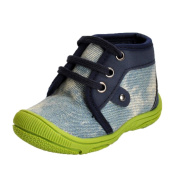 CYCTECH® Beautiful Newborn Girl Boy Sole Anti-slip Denim Shoes Warm Prewalker