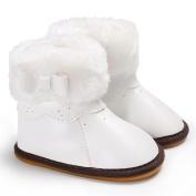 CYCTECH® Beautiful Newborn Bowknot Rubber Baby Shoes Soft Sole Anti-slip Boot