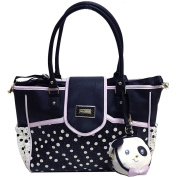 Betsey Johnson Flap Over Dots Nappy Bag
