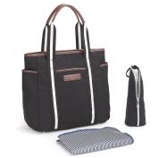 QIMIOABABY Waterproof Large Work Tote Shoulder Bag Satchel Nappy Bag - Fashionable Design Ladies Handbag