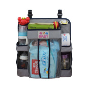 Fyore Oxford Fabric Hanging Nursery Organiser Nappy Caddy with Back Support for All Baby Essentials