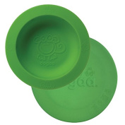 oogaa Home Baby Toddler Feeding bowl and Lid Combo, Green