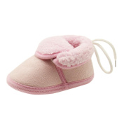Baby Soft Sole Prewalker, Leedford Baby Boots Soft Crib Shoes Toddler Winter Warm Prewalker