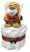 Nappy Cakes for Baby Showers Boy - Tiger Centrepiece by Sunshine Gift Baskets