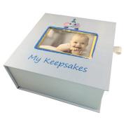 Baby Keepsake Box, First Year Baby Memory Box Set