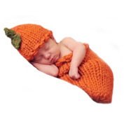 Lovely Newborn Infant Crochet Knitted Costume Baby Photography Props