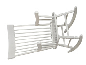 Gift Mark Adult Rocking Chair, White