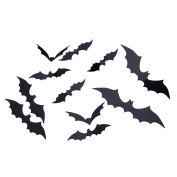 Halloween Decor Bat Wall Sticker Removable Wall Decals for Kids Bedroom Wall Decorations