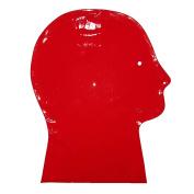 Brand New Red Latex Rubber Gummi Hood Mask