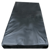 Vinyl Bed Sheet for wet games black 200x230 *no latex*