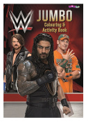 WOW WWE Jumbo Colouring and Activity Book