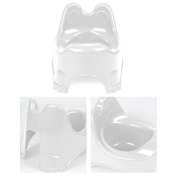 JD Comfortable Infant Potty Training Seat Chair Toilet Trainer, White - NEW!