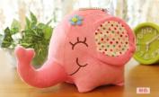 12CM Floral Elephant Plush Stuffed Toy Pendant