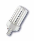 Osram 13 Watt 4pin Compact Fluorescent Light Dulux T/E Plus Extra Warm White (2700k) Lamp