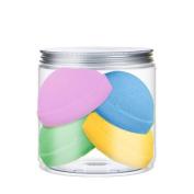 Nacomi Fizzing Bath Bombs Set Mix 4 Colours (4 pieces) 330g