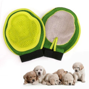 DFLY New rubber pet gloves dog shower bath massage brush pet cleaning beauty products dog clean brush Palm massage brush cleaning brush