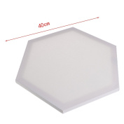 Yeahii Blank Hexagon Wood Box Framed For Painting DIY Stretched Art Canvas Acrylic Oil Paint Board