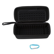 GUAngqi Case Travel Bag for Bluetooth Speaker with Mesh Pocket for Accessories