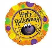 Halloween Spider Mylar/foil Balloon 46cm Pkg/ 10