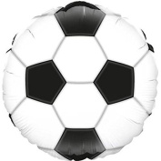 Oaktree Football 46cm Foil Party Balloon